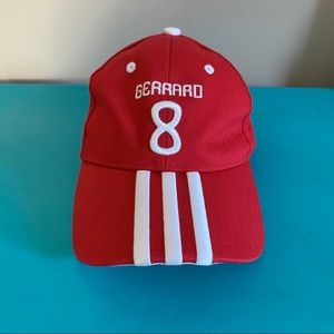 Adidas Red Gerrard 8 Unstructured BaseBall Hat